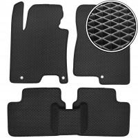 Коврики в салон для Hyundai i30 GD '13-16, EVA-полимерные, черные (Kinetic)