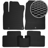 Коврики в салон для Hyundai i30 PD '17-, EVA-полимерные, черные (Kinetic)