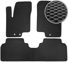 Коврики в салон для Hyundai ix-20 '11-, EVA-полимерные, черные (Kinetic)