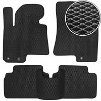 Коврики в салон для Hyundai ix-35 '10-15, EVA-полимерные, черные (Kinetic)