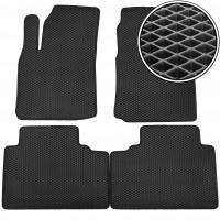 Коврики в салон для Hyundai Matrix '01-10, EVA-полимерные, черные (Kinetic)