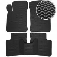 Коврики в салон для Hyundai Sonata '01-05, EVA-полимерные, черные (Kinetic)