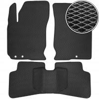 Коврики в салон для Kia Ceed '10-12, EVA-полимерные, черные (Kinetic)