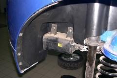 Подкрылок задний правый для Chevrolet Aveo '08-11, 5D. (Novline)