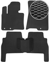 Коврики в салон для Kia Sorento 2010 - 2013 XM, EVA-полимерные, черные (Kinetic)