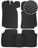 Коврики в салон для Lada (Ваз) 2101-2107 '81-12, EVA-полимерные, черные (Kinetic)
