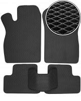 Коврики в салон для Lada (Ваз) 2113-15 '97-12, EVA-полимерные, черные (Kinetic)