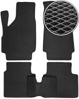 Коврики в салон для Lada (Ваз) Niva 2131 '01-06, EVA-полимерные, черные (Kinetic)