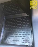 Фото 7 - Коврики в салон для Volkswagen Touran '03-15 полиуретановые, черные (Novline)