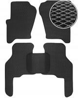 Коврики в салон для Land Rover Discovery 3 '04-09, EVA-полимерные, черные (Kinetic)