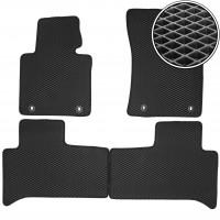 Коврики в салон для Land Rover Range Rover '02-12, EVA-полимерные, черные (Kinetic)