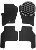 Коврики в салон для Land Rover Range Rover Sport '05-13, EVA-полимерные, черные (Kinetic)
