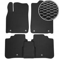 Коврики в салон для Lexus ES '12-, EVA-полимерные, черные (Kinetic)