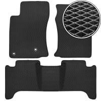 Коврики в салон для Lexus GX 470 '02-09, EVA-полимерные, черные (Kinetic)