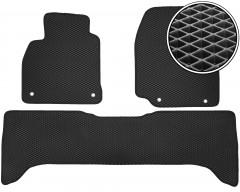 Коврики в салон для Lexus LX 470 '00-07, EVA-полимерные, черные (Kinetic)