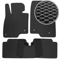 Коврики в салон для Mazda 3 '14-, EVA-полимерные, черные (Kinetic)