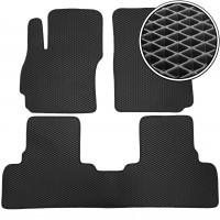 Коврики в салон для Mazda 5 '10-15, EVA-полимерные, черные (Kinetic)