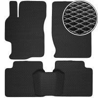 Коврики в салон для Mazda 6 '08-12, EVA-полимерные, черные (Kinetic)
