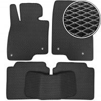 Коврики в салон для Mazda 6 '13-, EVA-полимерные, черные (Kinetic)