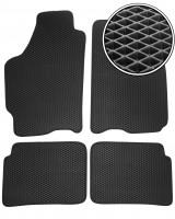 Коврики в салон для Mazda 626 '97-02 (GF), EVA-полимерные, черные (Kinetic)