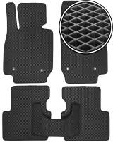 Коврики в салон для Mazda CX-3 '15-, EVA-полимерные, черные (Kinetic)