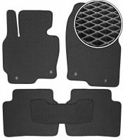 Коврики в салон для Mazda CX-5 '12-17, EVA-полимерные, черные (Kinetic)
