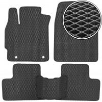 Коврики в салон для Mazda CX-7 '06-12, EVA-полимерные, черные (Kinetic)