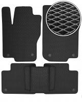 Коврики в салон для Mercedes GL-Class/GLS X166 '12-, EVA-полимерные, черные (Kinetic)