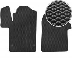 Коврики в салон передние для Mercedes V-Class W447 '14-, EVA-полимерные, черные (Kinetic)