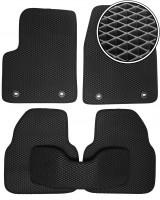 Коврики в салон для MG 6 '10-, EVA-полимерные, черные (Kinetic)