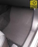 Фото товара 16 - Коврики в салон для Mitsubishi Outlander '12-, EVA-полимерные, черные (Kinetic)