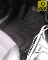 Фото товара 15 - Коврики в салон для Mitsubishi Outlander '12-, EVA-полимерные, черные (Kinetic)