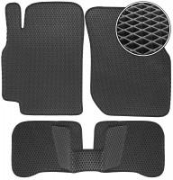 Коврики в салон для Nissan Almera '00-06, EVA-полимерные, черные (Kinetic)