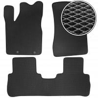 Коврики в салон для Nissan Murano '03-08, EVA-полимерные, черные (Kinetic)