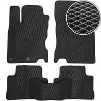 Коврики в салон для Nissan Qashqai '14-, EVA-полимерные, черные (Kinetic)