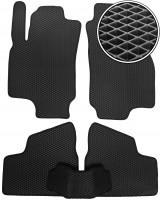 Коврики в салон для Opel Astra G '98-10, EVA-полимерные, черные (Kinetic)