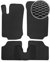 Коврики в салон для Opel Corsa C '00-06, EVA-полимерные, черные (Kinetic)