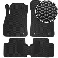 Коврики в салон для Opel Insignia '09-17, EVA-полимерные, черные (Kinetic)
