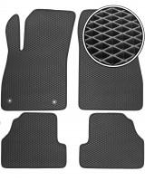 Коврики в салон для Opel Mokka '12-, EVA-полимерные, черные (Kinetic)