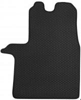Фото 4 - Коврики в салон передние для Opel Vivaro '15-, EVA-полимерные, черные (Kinetic)