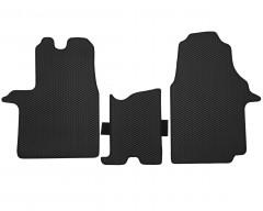 Фото 3 - Коврики в салон передние для Opel Vivaro '15-, EVA-полимерные, черные (Kinetic)