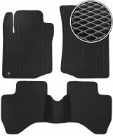 Коврики в салон для Peugeot 107 '09-14, EVA-полимерные, черные (Kinetic)