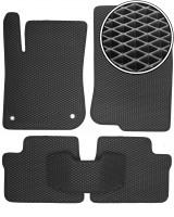 Коврики в салон для Peugeot 208 '12-, EVA-полимерные, черные (Kinetic)