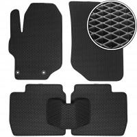 Коврики в салон для Peugeot 301 '12-, EVA-полимерные, черные (Kinetic)