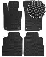 Коврики в салон для Porsche Panamera '10-16, EVA-полимерные, черные (Kinetic)