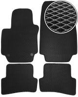 Коврики в салон для Renault Clio IV '13-, EVA-полимерные, черные (Kinetic)