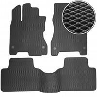 Коврики в салон для Renault Koleos '06-16, EVA-полимерные, черные (Kinetic)