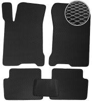 Коврики в салон для Renault Laguna '07-15, EVA-полимерные, черные (Kinetic)
