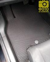 Фото товара 13 - Коврики в салон для Renault Megane 3 '08-16, универсал, EVA-полимерные, черные (Kinetic)