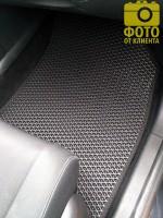 Фото товара 14 - Коврики в салон для Renault Megane 3 '08-16, универсал, EVA-полимерные, черные (Kinetic)